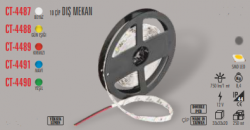 Cata - CATA DIŞ MEKAN RGB ŞERİT LED (5 METRE) CT-4534