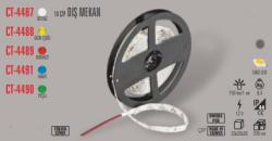 Cata - CATA DIŞ MEKAN YEŞİL RENK ŞERİT LED (5 METRE) CT-4490