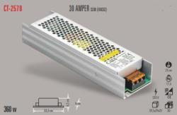 Cata - CATA SLİM LED TRAFO 30 AMPER (İÇ MEKAN) CT-2578