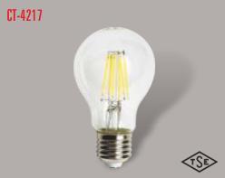 Cata - CATA UZUN FLAMENT 2700K SARI IŞIK E27 RUSTİK AMPÜL CT-4217