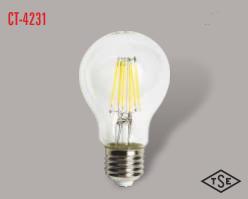 Cata - CATA UZUN FLAMENT 2700K SARI IŞIK E27 RUSTİK AMPÜL CT-4231