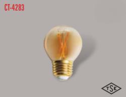Cata - CATA UZUN FLAMENT 2700K SARI IŞIK E27 RUSTİK AMPÜL CT-4283