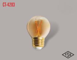 CATA UZUN FLAMENT 2700K SARI IŞIK E27 RUSTİK AMPÜL CT-4283