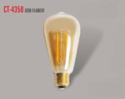 Cata - CATA UZUN FLAMENT 2700K SARI IŞIK E27 RUSTİK AMPÜL CT-4350