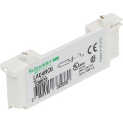 Schneider Electric - TESYS D - SÜPRESÖR MODÜLÜ - RC DEVRESİ - 50...127 V AC 3389110385380