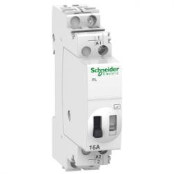 Schneider Electric - SCHNEİDER ELECTRİC DARBE RÖLESİ İTL 1P 1NA 16A BOBİN 12 VDC 24 VAC 50/60HZ 3606480088971