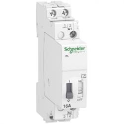 Schneider Electric - SCHNEİDER ELECTRİC DARBE RÖLESİ İTL 2P 2 NA 16A BOBİN 110 VDC 230...240 VAC 50/60HZ 3606480088995