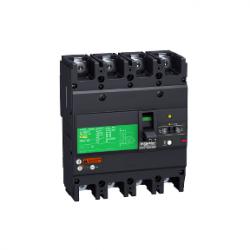Schneider Electric - DEVRE KESİCİ EASYPACT EZCV250H - TMD - 100 A - 4 KUTUP 3D 3303431119257