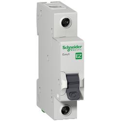 Schneider Electric - SCHNEİDER ELECTRİC EASY9 MCB 1P 32A C 6KA 230V ANAHTARLI OTOMATİK SİGORTA 3606480587679