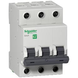 Schneider Electric - EASY9 MCB 3P 6A C 6KA 400V ANAHTARLI OTOMATİK SİGORTA 3606480587801
