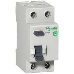 Schneider Electric - SCHNEİDER ELECTRİC KAÇAK AKIM KORUMA RÖLESİ EASY9 RCC 2P 40A 30MA AC 230V