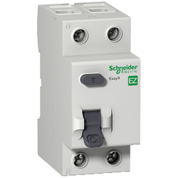 Schneider Electric - SCHNEİDER ELECTRİC RESİDUAL CURRENT CİRCUİT BREAKER EASY9 RCCB 2P 40A 300MA AC-TYPE 230V