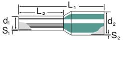 Weidmüller - WEİDMÜLLER H1-14 İZOLELİ ŞERİD YÜKSÜK 4008190167523