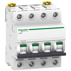 Schneider Electric - SCHNEİDER ELECTRİC 4X10A 6KA C TİPİ İC60N OTOMAT 3606480079733