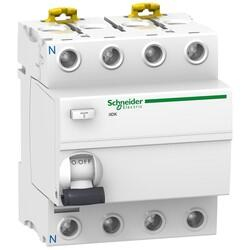Schneider Electric - İID K - TOPRAK KAÇAĞI KORUMA - 4P - 40A - 30MA - AC TİP 3606480089480