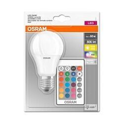 OSRAM KUMANDALI LED RGB LAMBA 2700K 4058075091023 - Thumbnail