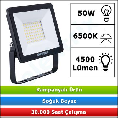 LED PROJEKTÖR SYLVANIA START ECO 50W 6500K 4500LM 48963 5410288489636