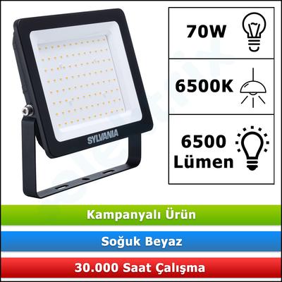 LED PROJEKTÖR SYLVANIA START ECO 70W 6500K 6500LM 48964 5410288489643