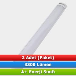 Lampist - LAMPİST LED YATAY BANT ARMATÜR 42W 6500K (2 ADET)