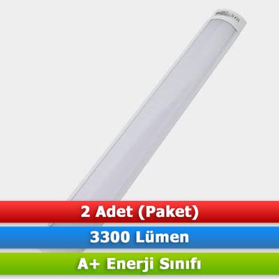 LAMPİST LED YATAY BANT ARMATÜR 42W 6500K (2 ADET)
