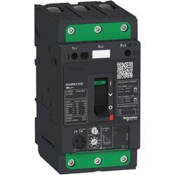 Schneider Electric - SCHNEİDER ELECTRİC MOTOR CİRCUİT BREAKER TESYS GV4 3P 115A ICU 25KA THERMAL MAGNETİC EVERLİNK TERMİNALS 3606481310101