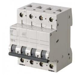 Siemens - SİEMENS 5SL6610-7YA 3X6A 6KA 3F+N C TİPİ 70MM CLASSİC OTOMATİK SİGORTA 4001869525037