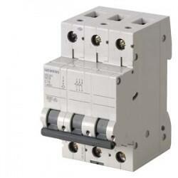 Siemens - SİEMENS OTOMATİK SİGORTA CLASSİC C16A 3F 6KA 70 MM 4001869524962