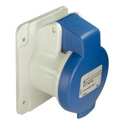 Schneider Electric - SCHNEİDER ELECTRİC PRATİKA SOKET VİDA DÜZ 16A 2P + E 200 250 V AC PANEL 3303432033811