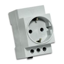 TP Electric - TP ELECTRİC RAYA MONTAJ TOPRAKLI PRİZ 8693151643947