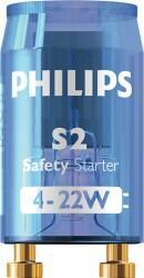 Philips - STARTER S2 4-22W SER 220-240V BLUE LIS/12X25CT 872790088644300