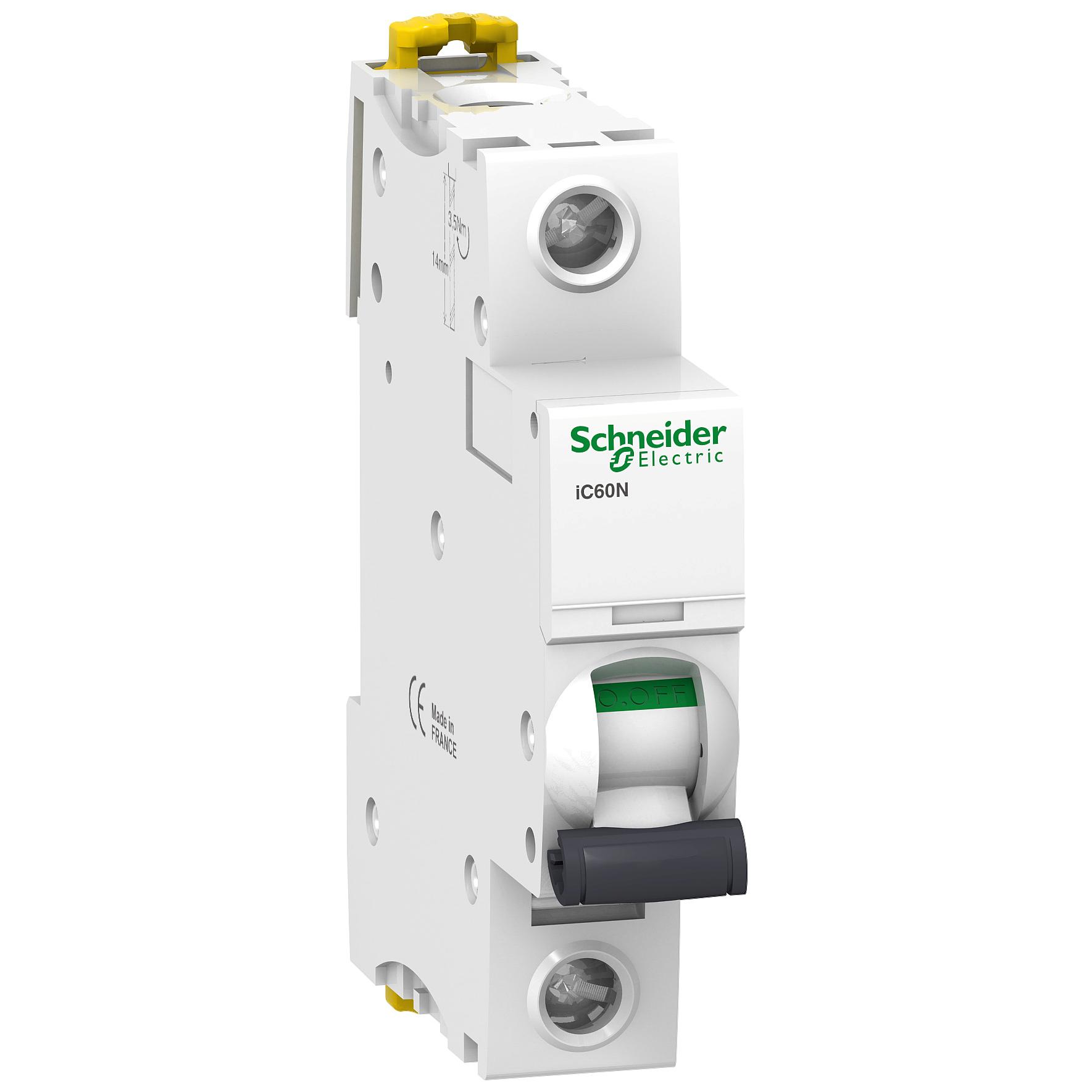 Schneider Electric - SCHNEİDER ELECTRİC 1X25A 6KA B TİPİ İC60N OTOMAT 3606480079047