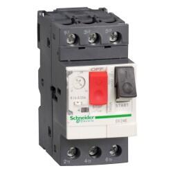Schneider Electric - SCHNEİDER ELECTRİC 4..6.3A 2.2KW 380/400V MOTOR KORUMA ŞALTERİ 3389110343113