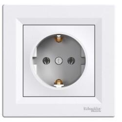 Schneider Electric - SCHNEİDER ELECTRİC EPH2900121 ASFORA BEYAZ TOPRAKLI PRİZ (ÇERÇEVESİZ) 3606480526084