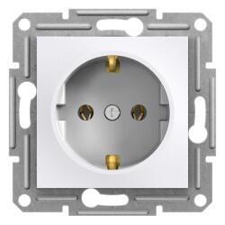 Schneider Electric - SCHNEİDER ELECTRİC EPH2970121 ASFORA BEYAZ TOPRAKLI PRİZ (ÇERÇEVESİZ) 3606480987083