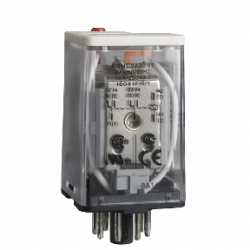 Schneider Electric - SCHNEİDER ELECTRİC EVRENSEL TAKILABİLİR RÖLE ZELİO RUM 2 K/A 24 V AC 10 A 3389119402590