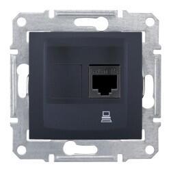 Schneider Electric - SCHNEİDER ELECTRİC SEDNA 1XRJ45 CAT5E-UTP GRAFİT 8690495035667