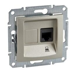Schneider Electric - SEDNA 1XRJ45 CAT5E-UTP TİTANYUM 8690495035650