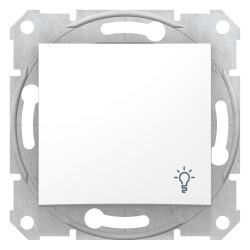 Schneider Electric - SCHNEİDER ELECTRİC SEDNA LİGHT BUTONU LAMBA İŞARETLİ BEYAZ 8690495033045