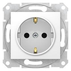 Schneider Electric - SEDNA TOPRAKLI PRİZ ÇOCUK KORUMALI BEYAZ 8690495034431