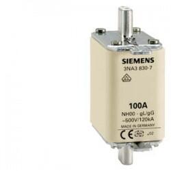 Siemens - SİEMENS 3NA3836 BOY 00 160A 30MM STEATİT SERAMİK GÖVDELİ NH BIÇAKLI SİGORTA BUŞONU 4001869020013