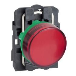 Schneider Electric - SİNYAL LAMBASI KIRMIZI 24V AC-DC LEDLİ 3389110903782