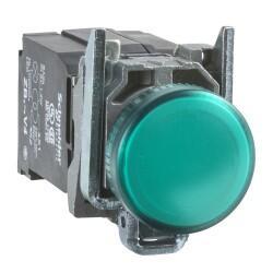 Schneider Electric - SİNYAL LAMBASI YEŞİL 230V AC LEDLİ 3389110892000