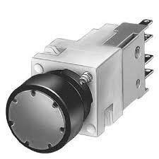 Siemens - SİEMENS BUTON KOMPLE SİYAH 1 NC STOP 16MM 4011209321724