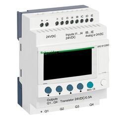 Schneider Electric - SCHNEİDER ELECTRİC SR 12 I-O ST 24 VDC KOMPAKT AKILLI RÖLE 3389110547610