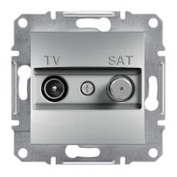 Schneider Electric - SCHNEİDER ELECTRİC TV-SAT ARA ÇIKIŞI (8DB) ÇERÇEVESİZ ALÜMİNYUM 3606480728792