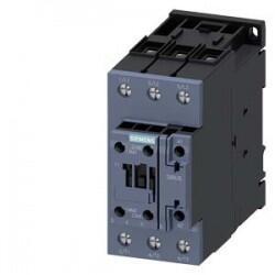 Siemens - SİEMENS 22KW 50A 20-33VDC BOBİNLİ 1NO+1NC ÜÇ FAZLI SIRIUS KONTAKTÖR 4011209939905