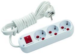 Schneider Electric - SCHNEİDER ELECTRİC ÜÇLÜ 2 MT KABLOLU GRUP PRİZ ANAHTARLI