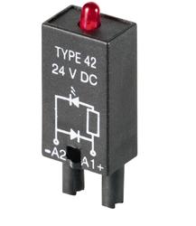 Weidmüller - WEİDMÜLLER RIM2 6-24V DC LED + KOR.DİODU ( A1 +/A2 -) (PTML0024) 4032248361632