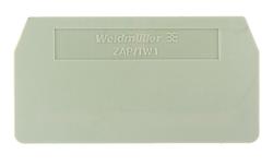 Weidmüller - WEİDMÜLLER 1 NİHAYET PLAKASI ZAP-TW 4008190190859